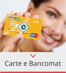 carte e bancomat privati