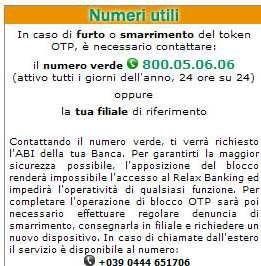 BCC Roma — Assistenza