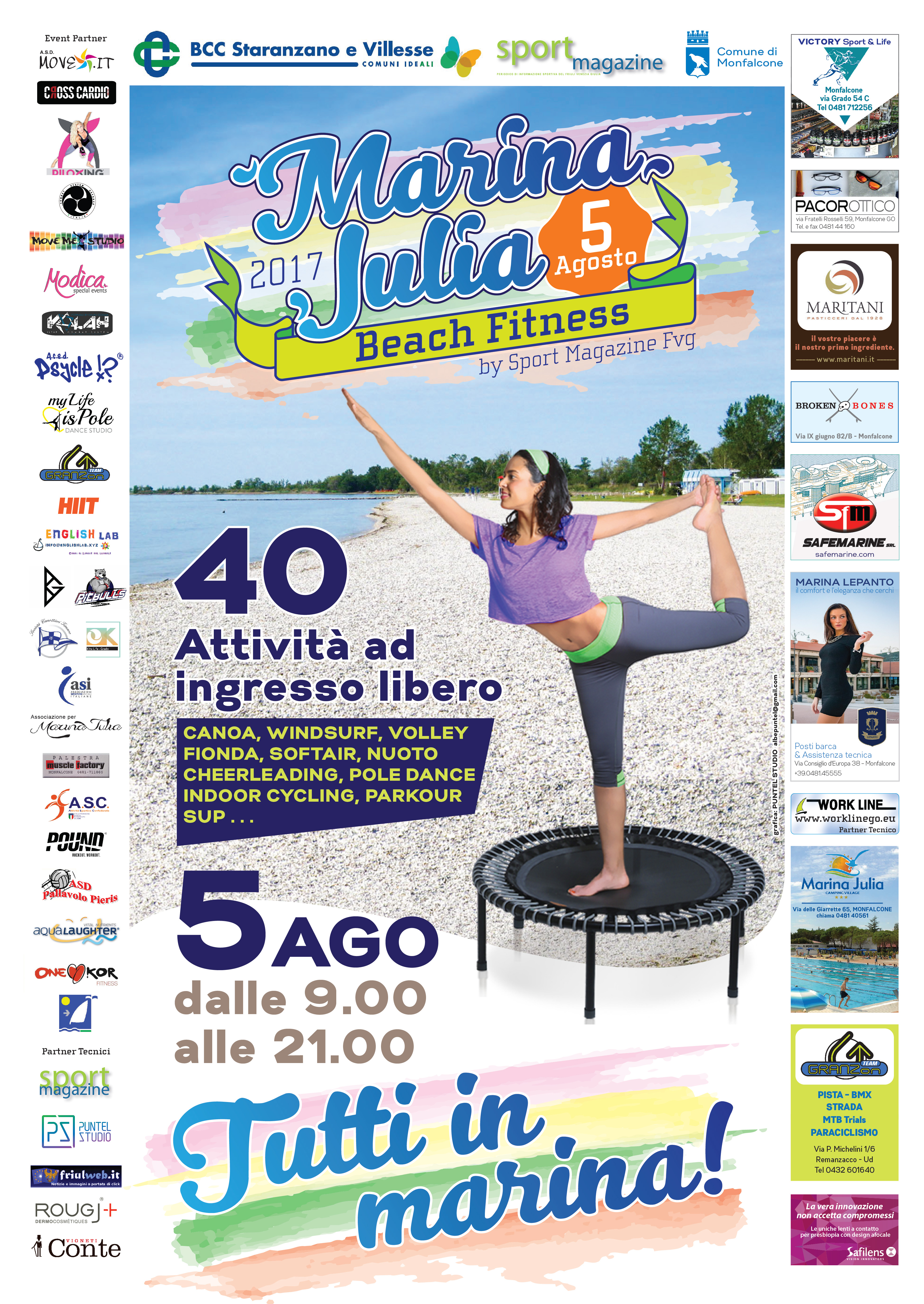 marina julia beach fitness