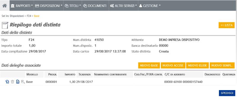 Valpolicella benaco banca pagare un f24 for Dove pagare f24