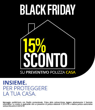 Black Friday vetrina