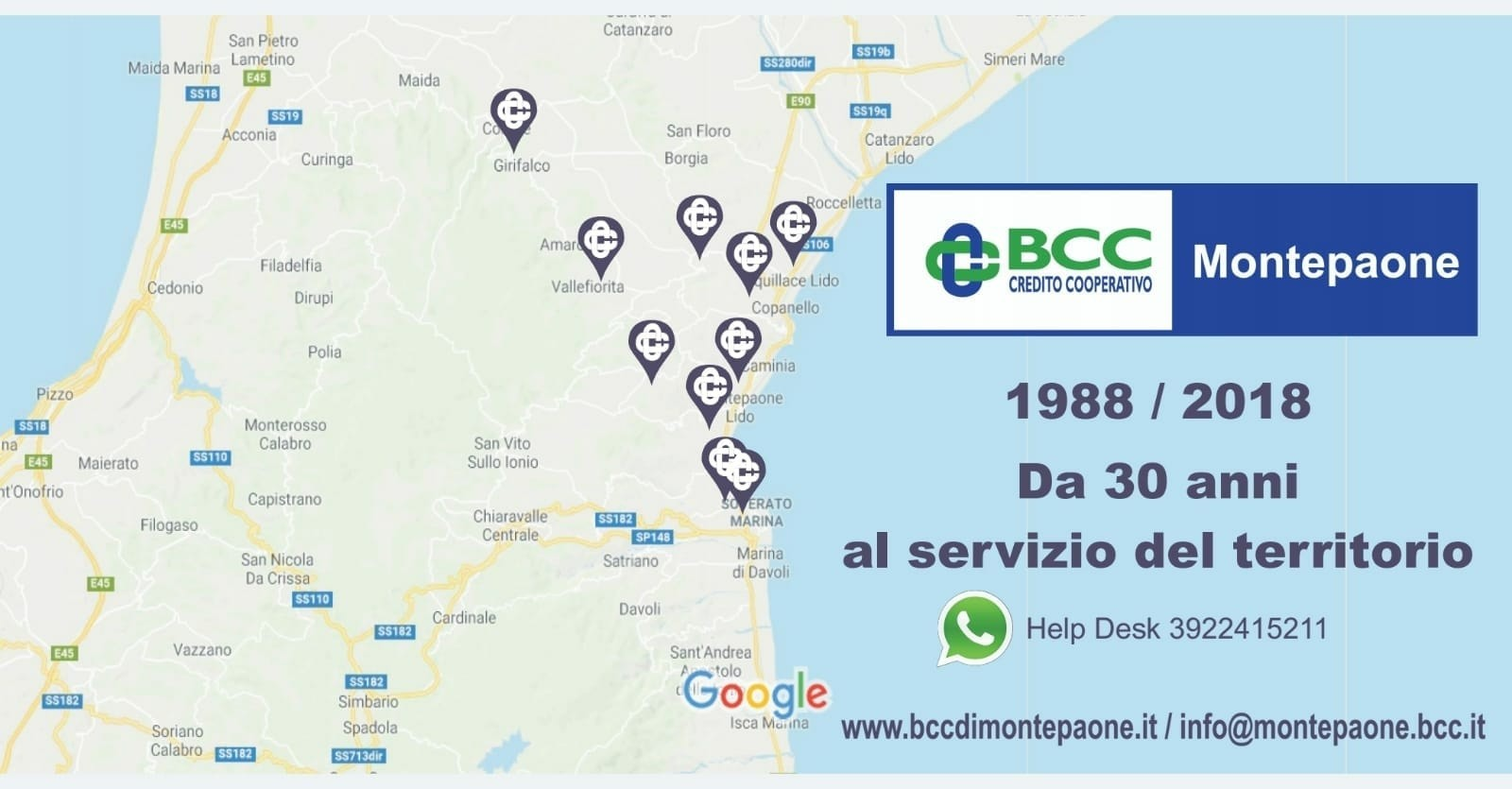 30 anni BCC Montepaone