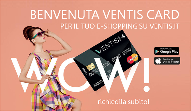 banner home page VentisCard banca patavina