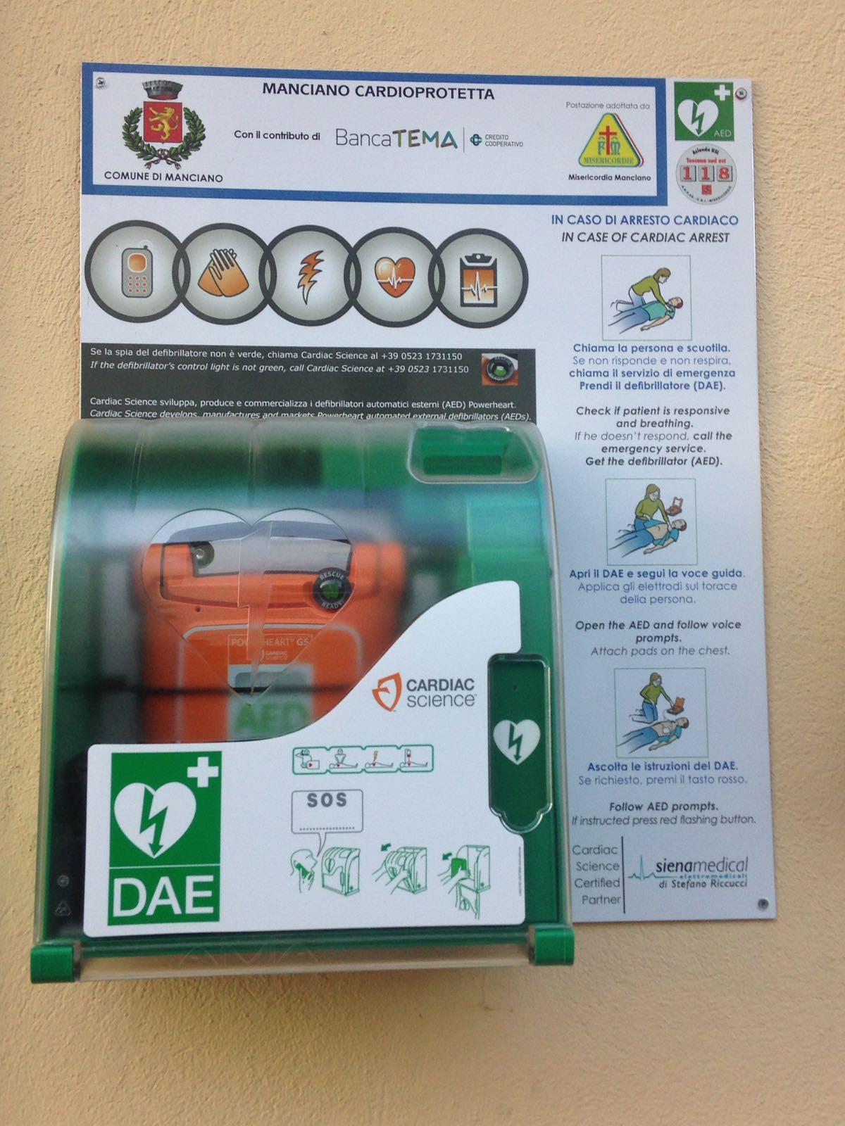 Defibrillatore Dettaglio