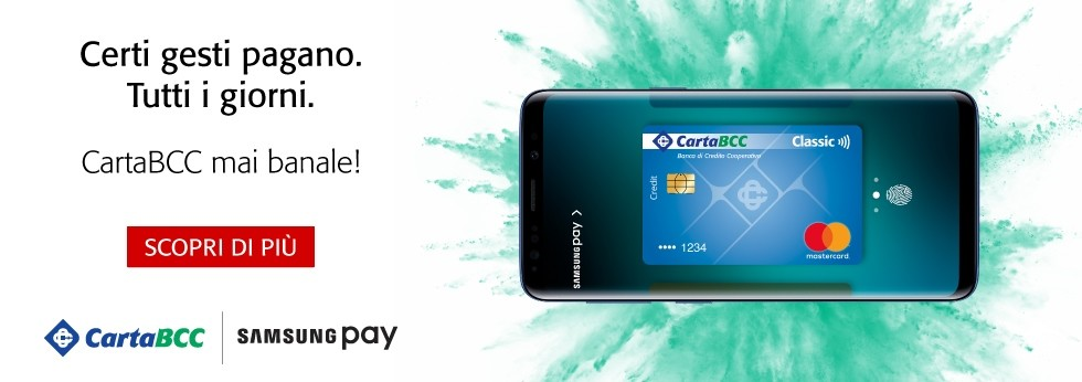CartaBCC con Samsung Pay