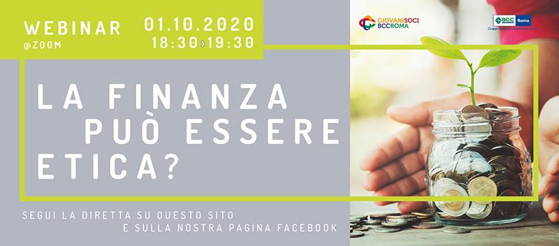 Banner Webinar Finanza Etica responsive