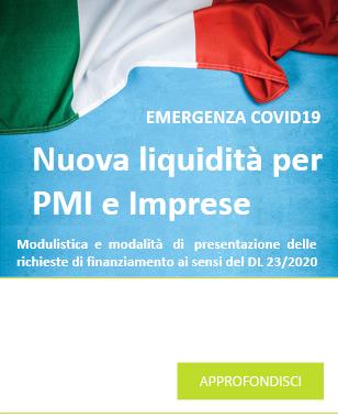 COVID-19 - nuova liquidità