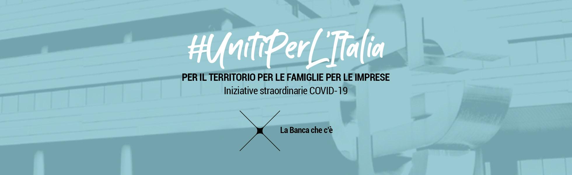 Sito Iccrea Uniti Per L'Italia Covid 19