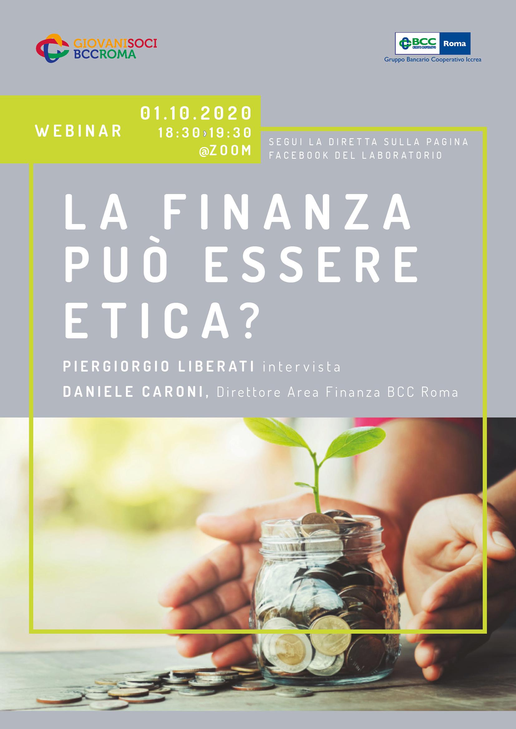 Webinar Finanza Etica