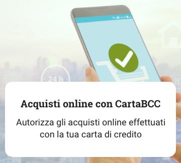 Acquisti Online con CartaBCC