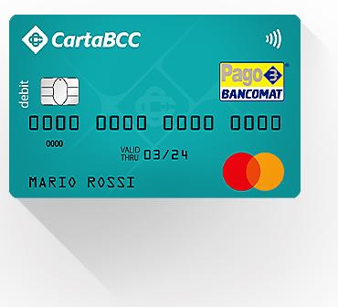 Carta BCC Debit Mastercard