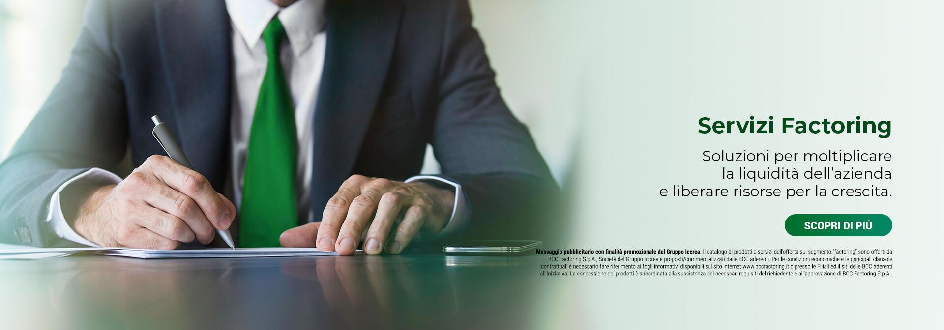 servizi consulenza bcc factoring