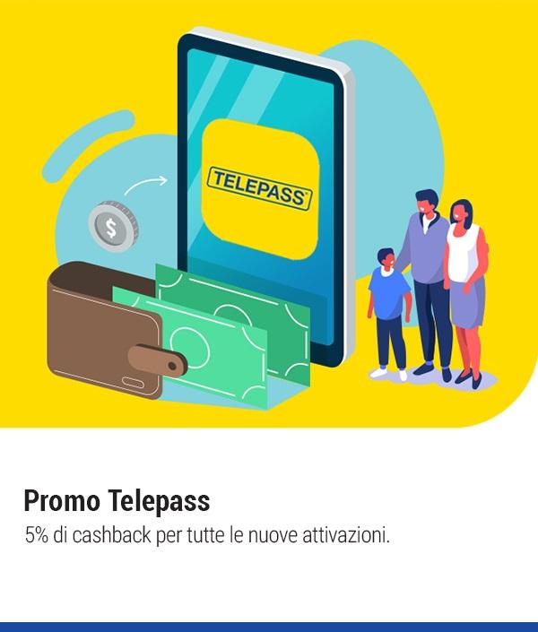 Telepass cashback 2020