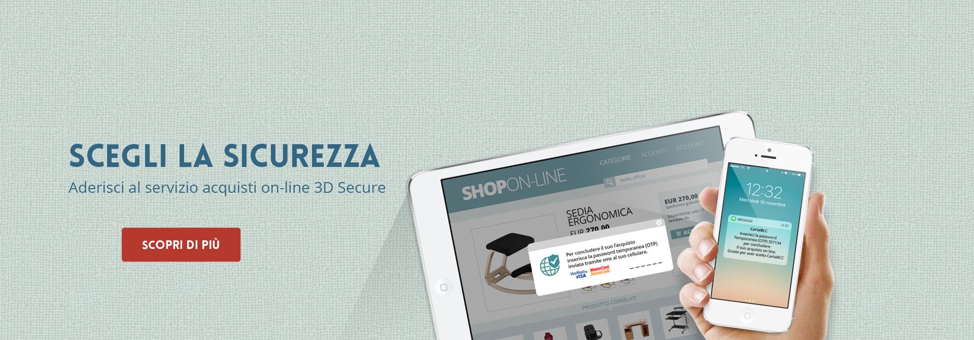 Acquisti Online 3D Secure
