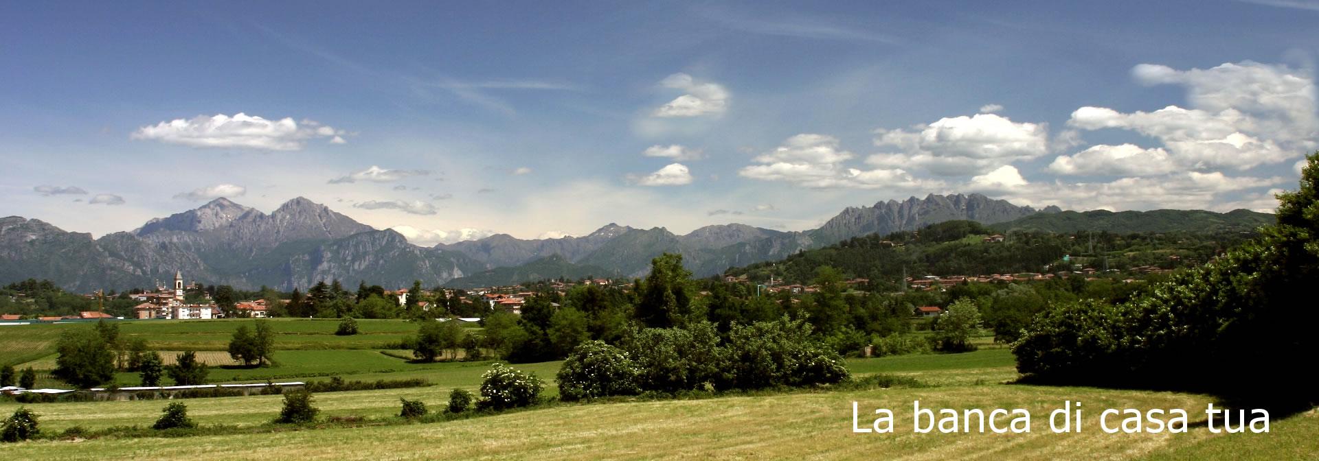 Panoramica della Valle del Lambro