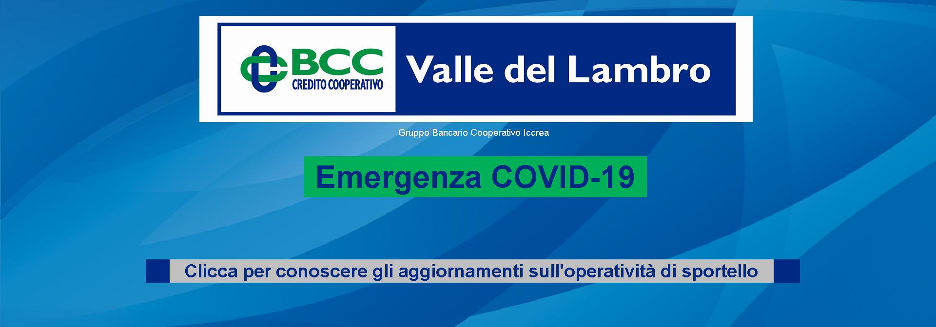 Banner Covid19 Orari Sportelli