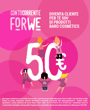 conto for we 50