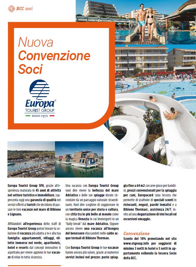 Convenzione Europa Tourist Group