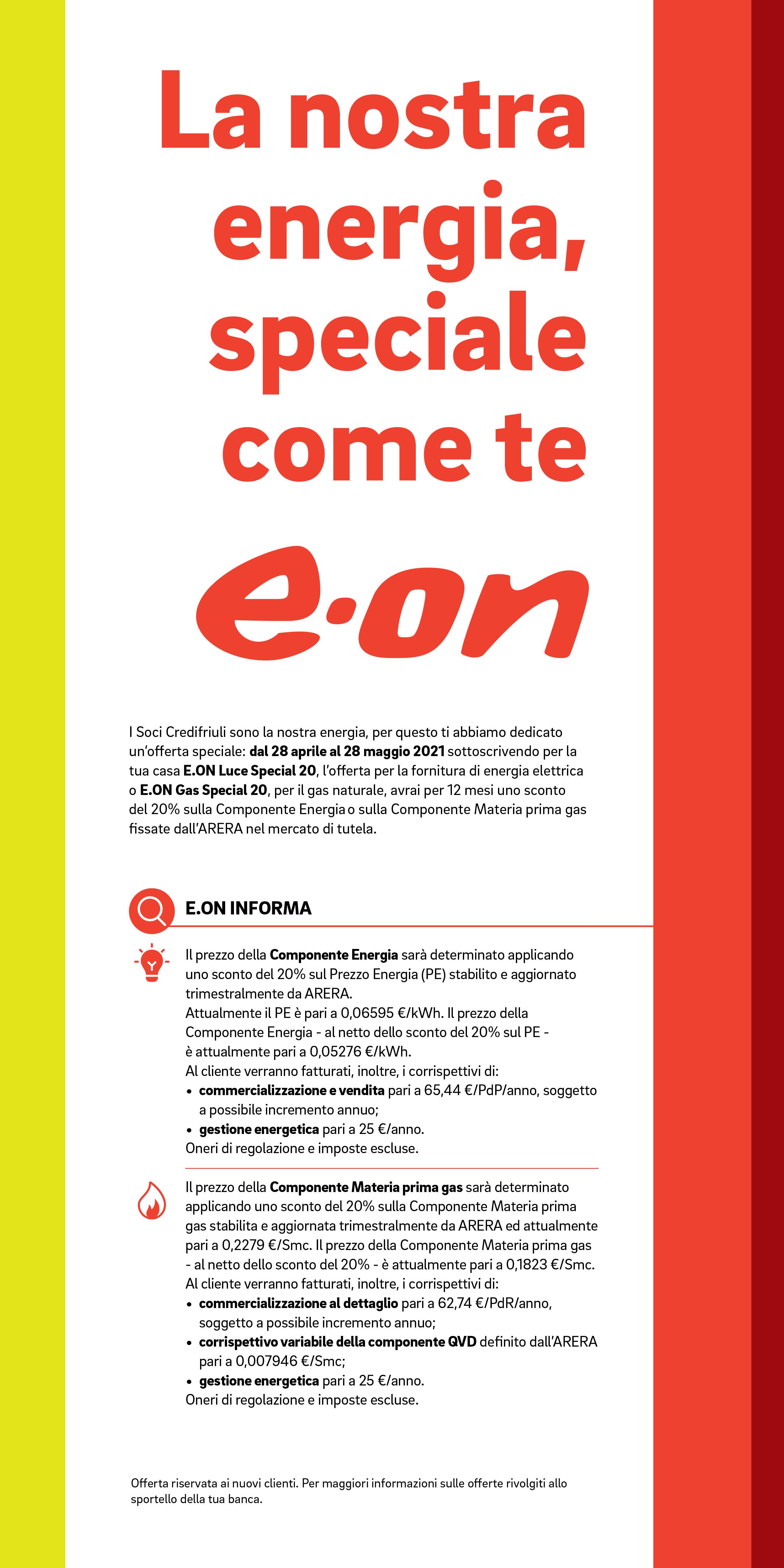 Soci 2021 - Iniziativa e.on landing page