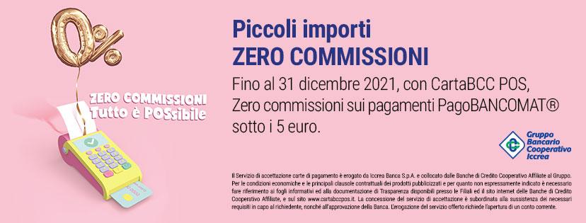Pagobancomat zero commissioni