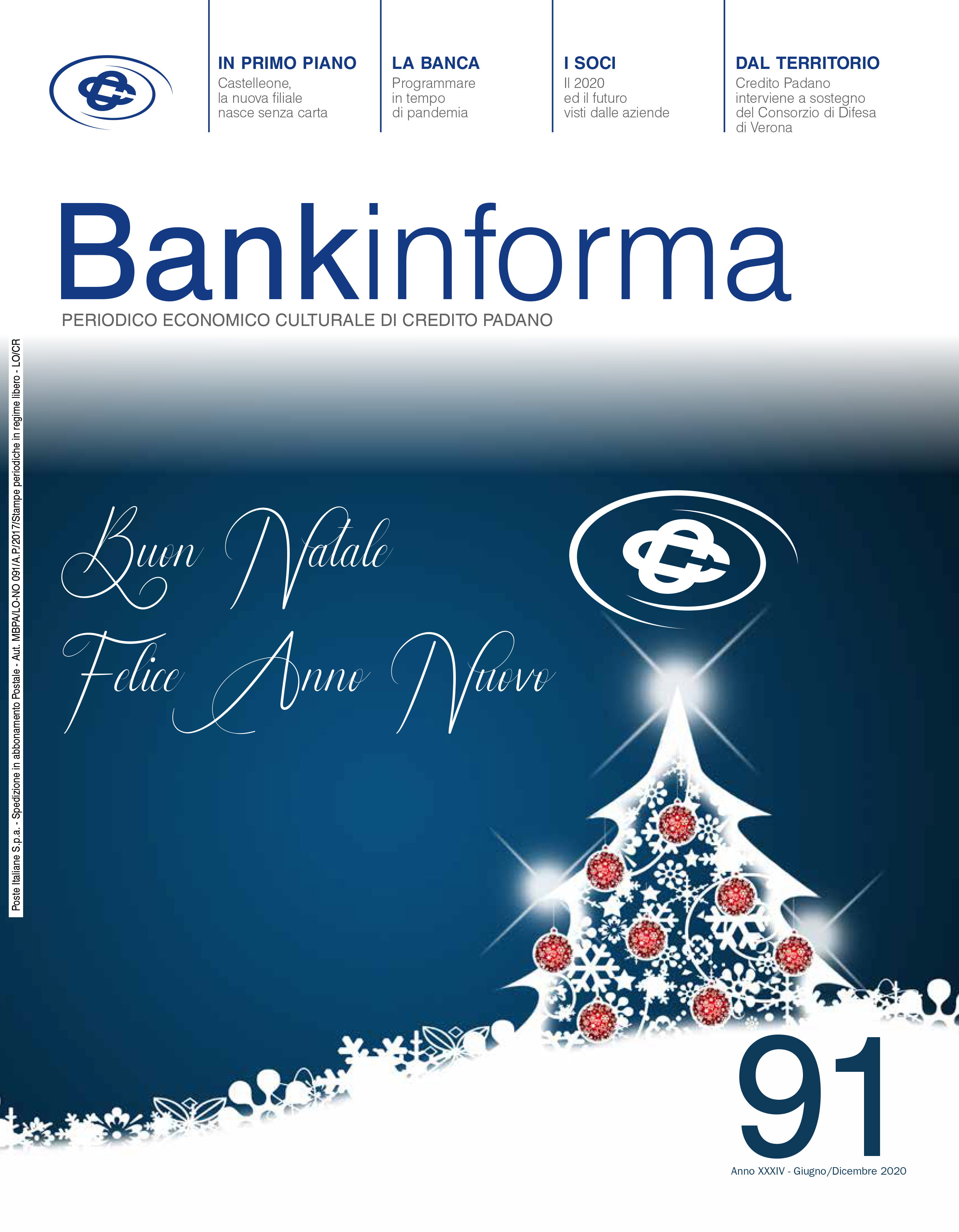 Bankinforma nr. 91 - Copertina