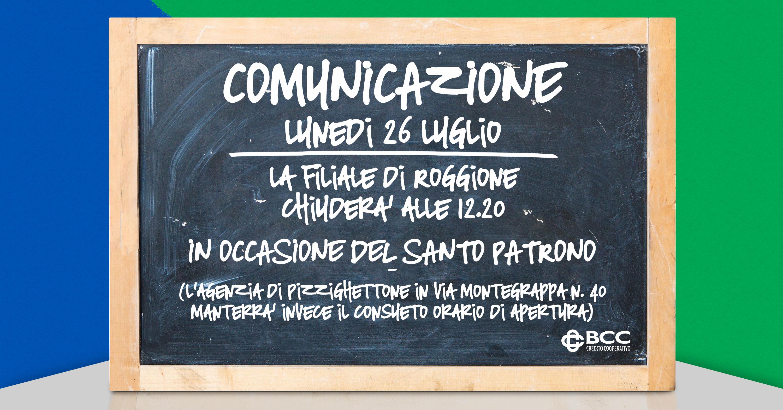 Lavagna x patrono Pizzighettone Roggione 2021