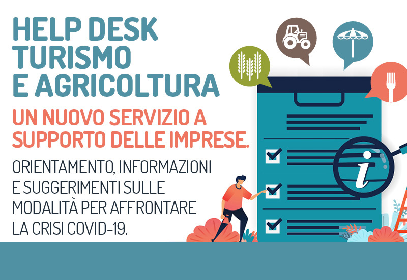 Help desk turismo e agricoltura immagine