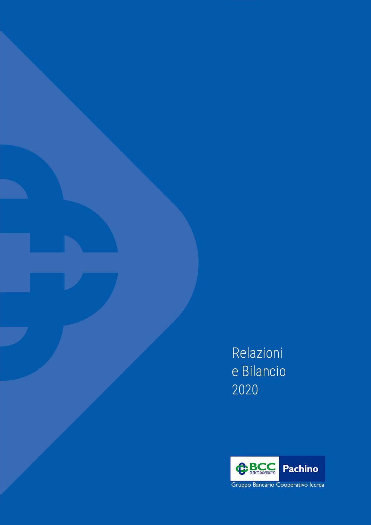 BCC Pachino - Bilancio 2020 copertina