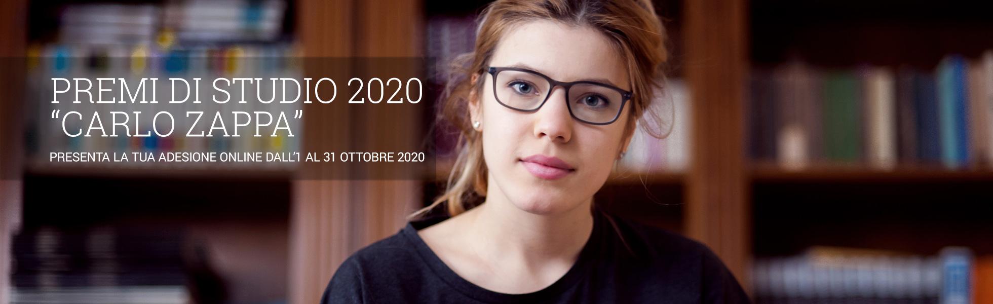 Premi di Studio 2020 Banner