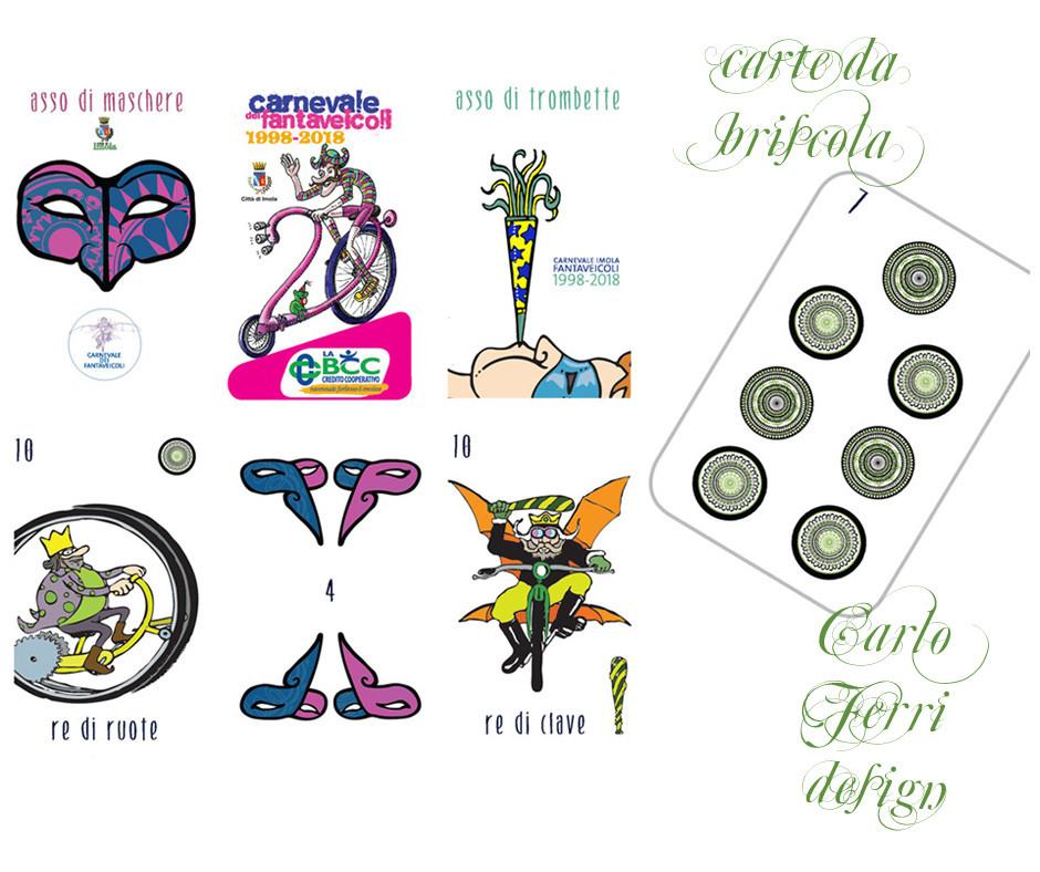 Le carte griffate Carlo Ferri Fantaveicoli La BCC Imola