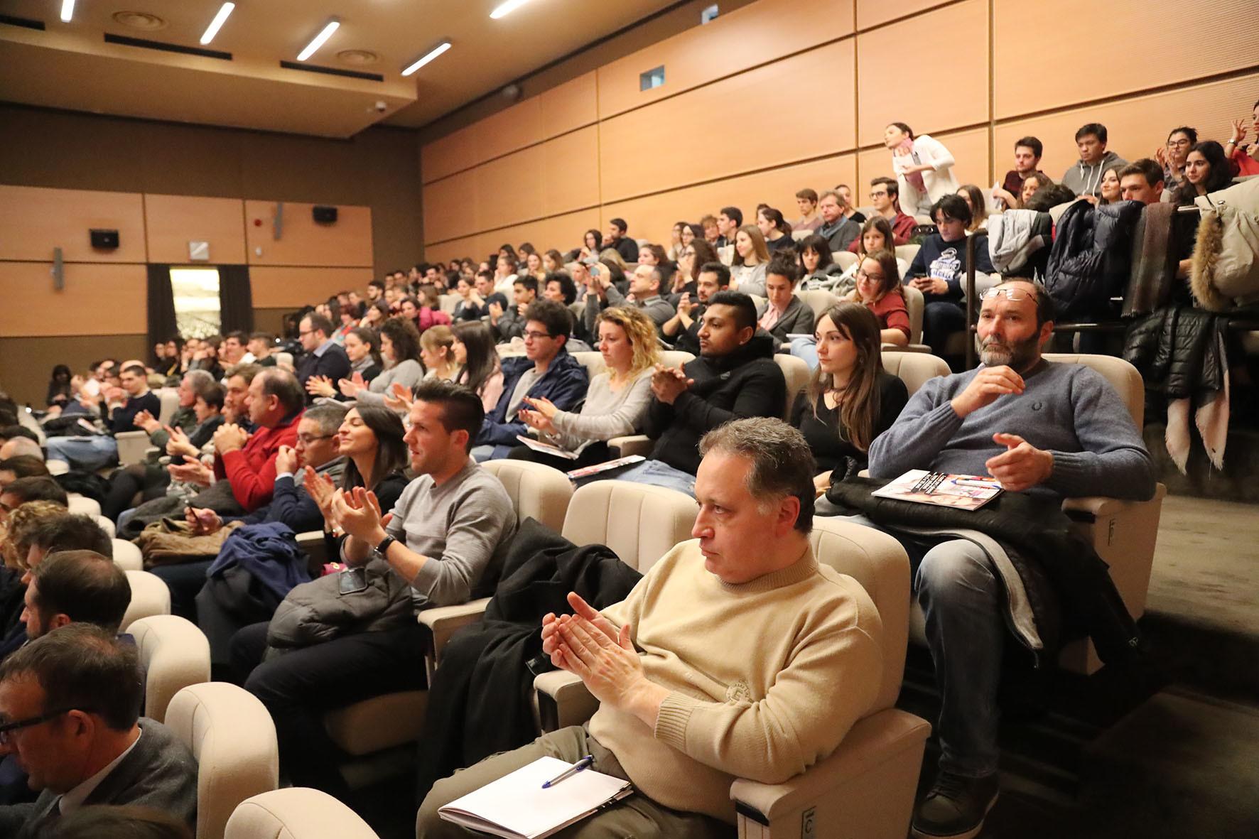 Platea dei partecipanti all'appuntamento del 25/01/2018