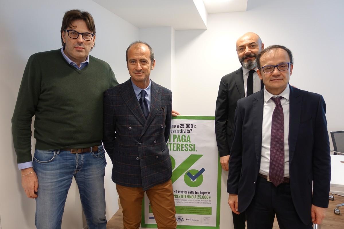 La BCC presso la CNA a Forlì