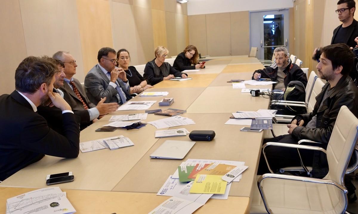 Conferenza stampa ASP Adventum LA BCC