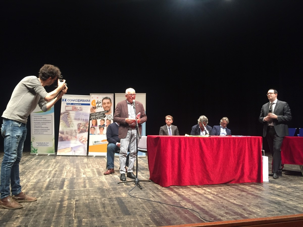 Bandini LA BCC Premiazione Campionati Giornalismo Forlì