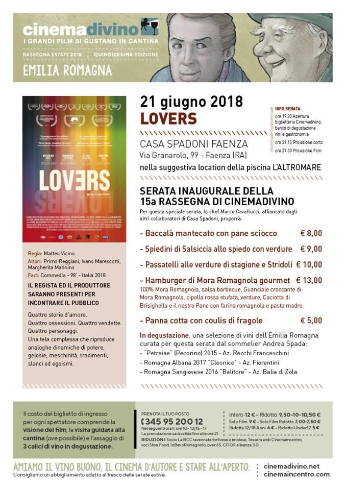 Cinema Divino inaugura a Faenza