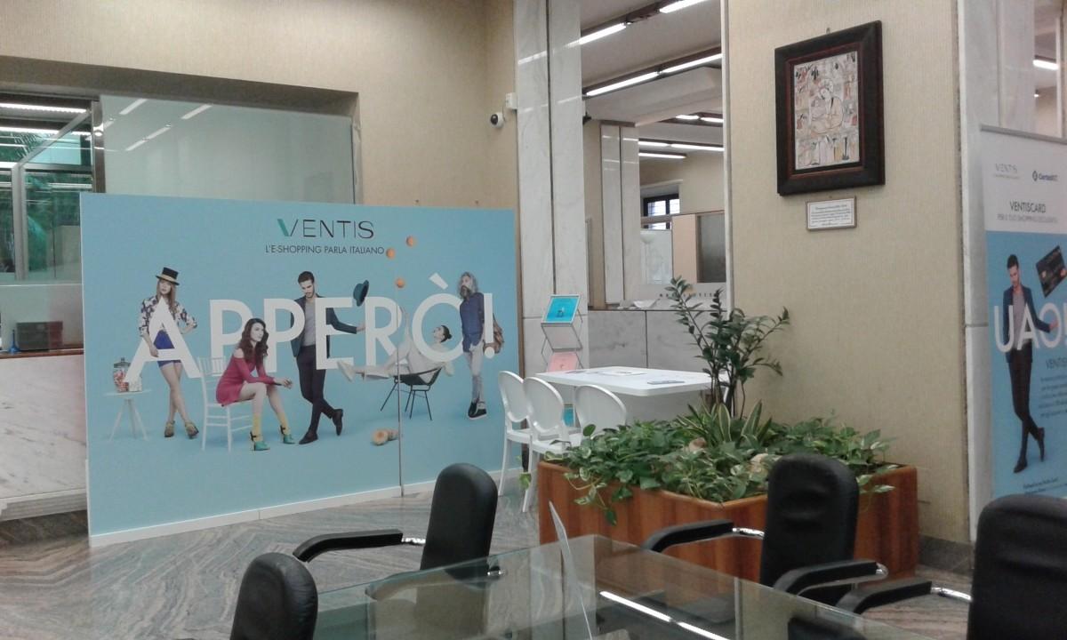 Allestimento Ventis presso LA BCC Forlì Corso della Repubblica