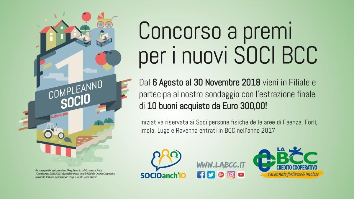 Compleanno Socio LA BCC edizione 2018