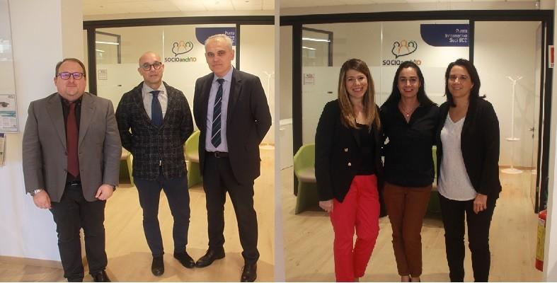 I colleghi de LA BCC Foro Boario Forlì