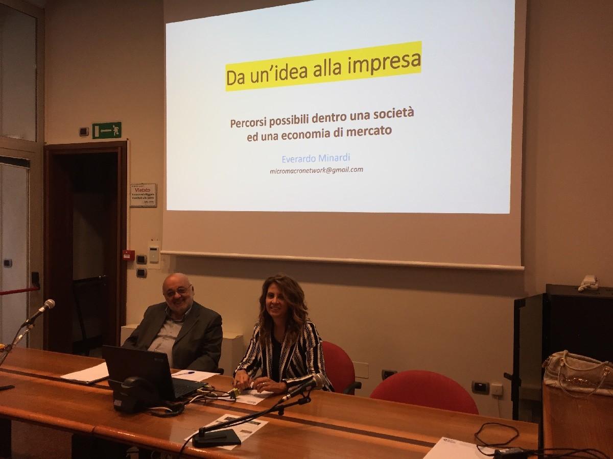 I neo manager di Multifor a lezione da Emanuela Bacchilega e Everardo Minardi