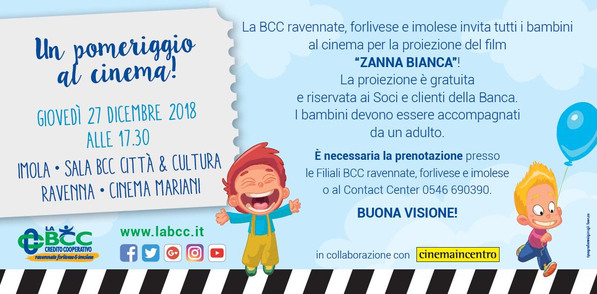 da30b3857e LA BCC ravennate, forlivese e imolese promuove un momento di divertimento  riservato ai bambini da trascorrere insieme alle famiglie in occasione  delle ...