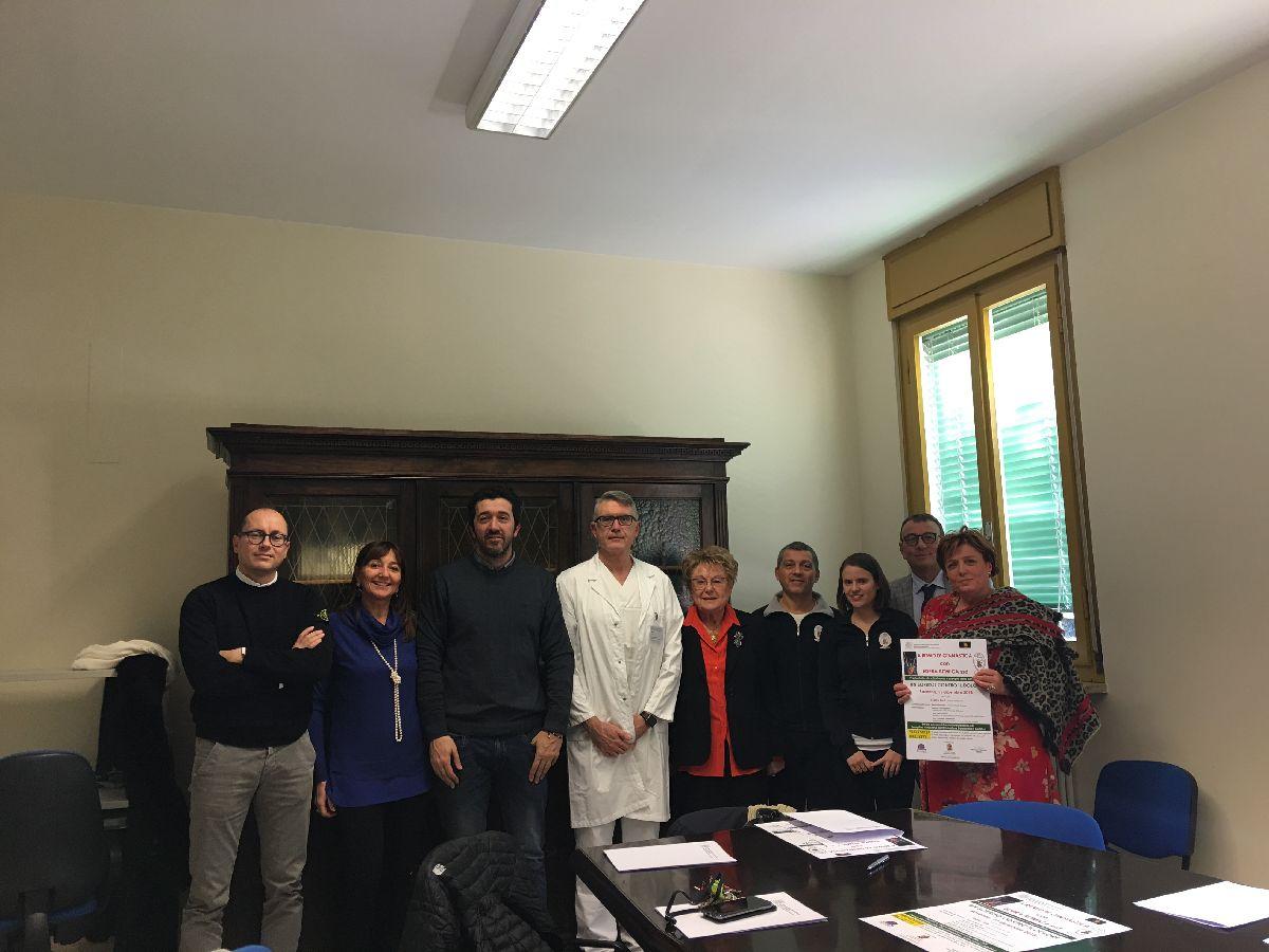 LA BCC alla conferenza stampa con Ausl della Romagna