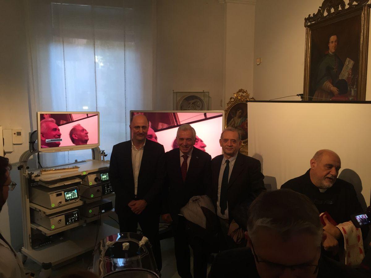 Macchinario all'avanguardia per l'Ospedale di Faenza, donato con il contributo de LA BCC