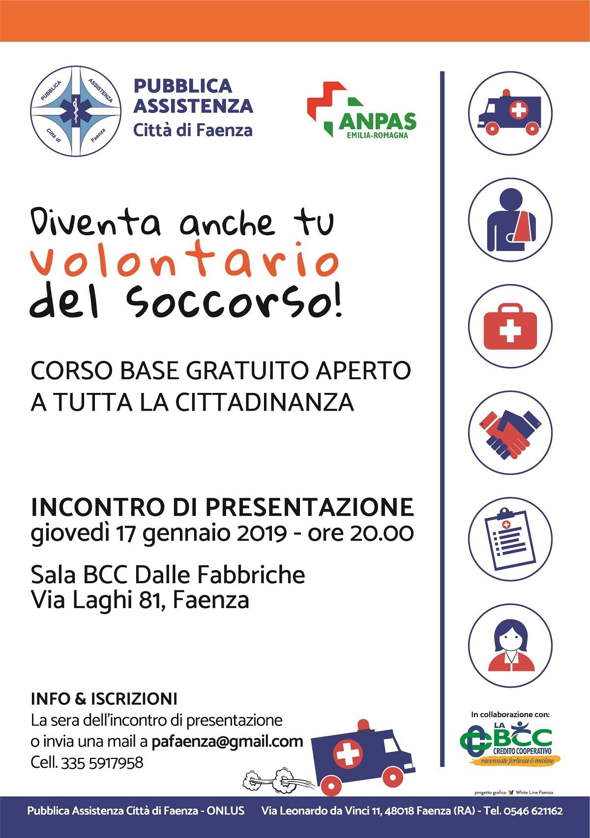 17 01 2019 Sala BCC Dalle Fabbriche via Laghi 81 Faenza