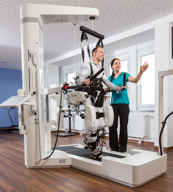 Il macchinario riabilitativo donato da Viviana de LA BCC