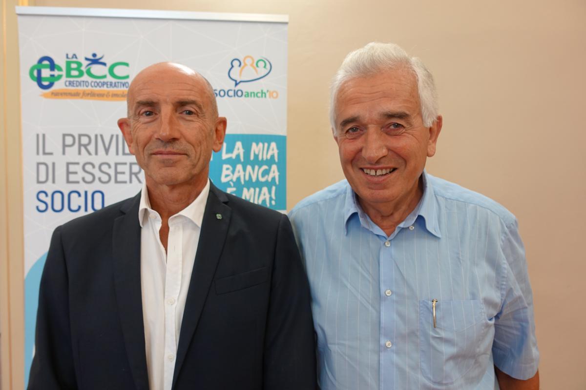 Direttore Generale Gianluca Ceroni - Presidente Secondo Ricci