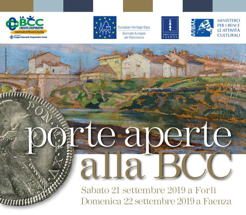 Forlì 21 settembre - Faenza 22 settembre Porte Aperte a LA BCC