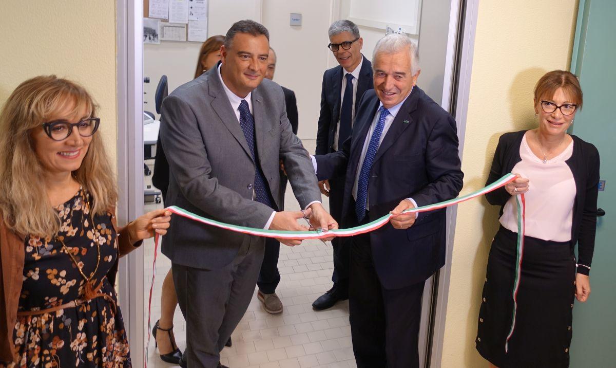 Il dottor Giacomo Costa con presidente de LA BCC Secondo Ricci