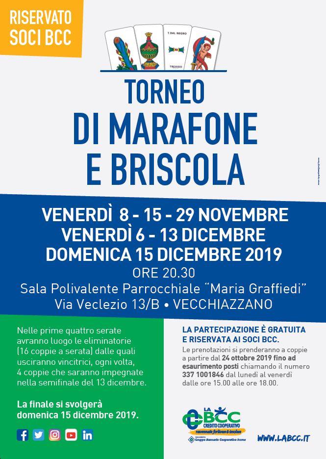 Torneo di Marafone per i Soci de LA BCC