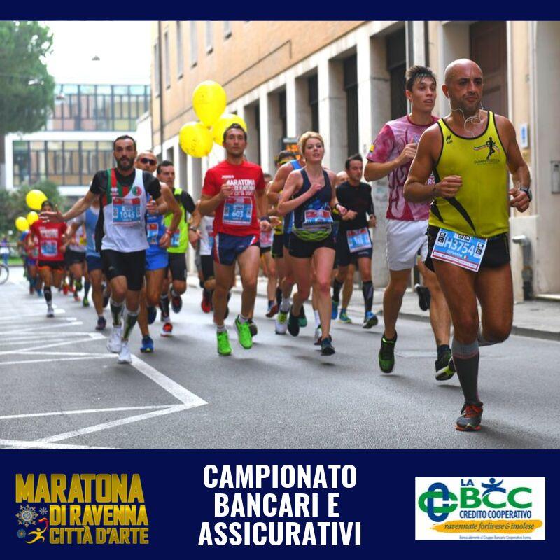 LA BCC sponsor del campionato bancari e assicurativi di maratona a Ravenna