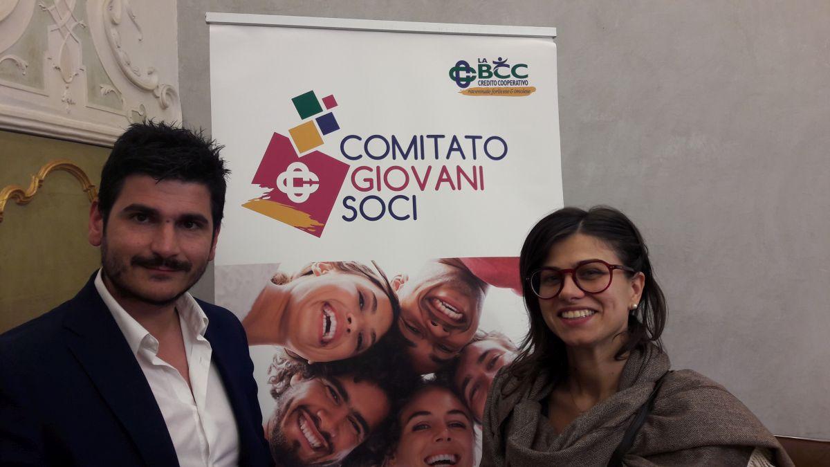 Gessica e Vincenzo, Comitato Giovani Soci de LA BCC